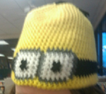 Despicable Me Minion Hat by cdbvulpix