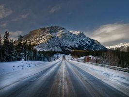 Highway 11 to Nordegg by Millsy1