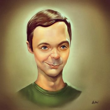 Sheldon Cooper by ArtofOkan