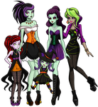 Boo's Family by sparks220stars