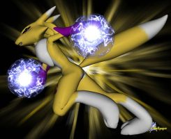 Renamon by Bigjim3D
