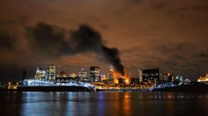 City on Fire by LogikPhotos