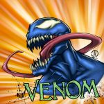 VENOMHead Quick coloring video by JoeyVazquez