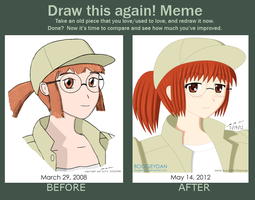 Draw This Again! Meme - Fio Portrait by BoggeyDan
