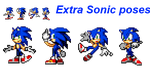 Extra sonic poses by supersilver27