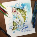 360- Striped Bass by Lucky978