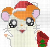 Hamtaro x-stitch pattern by Santian69