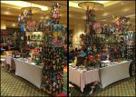 Akaicon 2015 Perler Booth Setup by jnjfranklin