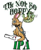 The Not So Hoppy Beer Label by evoluzione