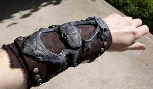 Assassins creed 2  - ezio vambrace trial fit by ArtisansTheory