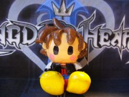 cute kh1 sora figure by Muku-charms