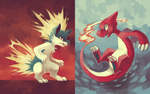 Day 7: Fave Fire Types by yassui