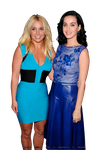 Britney Spears and Katy Perry PNG by Nothatinoccent