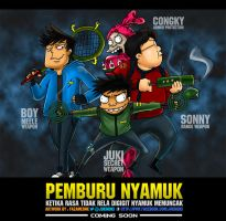 Si Juki - Pemburu Nyamuk by FazaMeonk