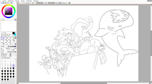 Crystal gems past wip line art by MermaidSoupButtons