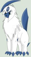 Tempest The Absol By Himself by Zander-The-Artist