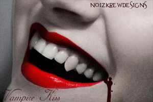Vampire Kiss by noizkrew