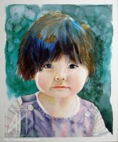 Little girl portrait by ramdens