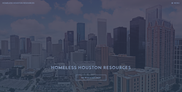 Homeless Houston Resources by ealdana