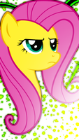iPhone 5 Fluttershy Wallpaper by Game-BeatX14