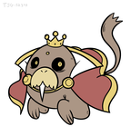 Daily Drawing 015 - Walrus Demon by tjg-12345