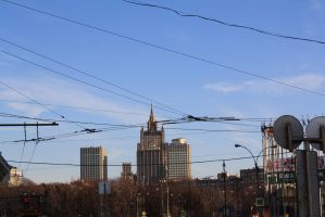 Moscow street 00808 by LinaAir