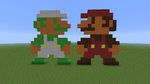 Super Mario Bros by BenderOfMoon
