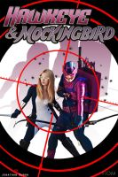 Hawkeye and Mockingbird by WhiteLemon