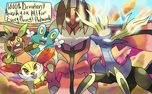 Pokemon X and Y Deviation 1,000 by Phatmon