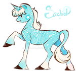 2015 New Character- Sachiel by Artzipants