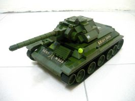 T-34 Russian WWII Medium Tank 1 by SOS101