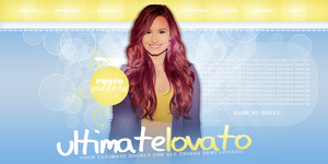 Demi Lovato Header by divadutchess