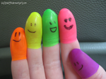 Finger People by softmist93