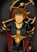 Artix: Ready for Battle (Black Armor version) by ShiroxCloud