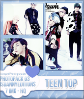 Teen Top - PHOTOPACK#03 by JeffvinyTwilight