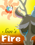 Sun's Fire Cover by marioking89