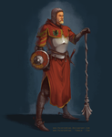 Concept: Cleric by PaintedKing