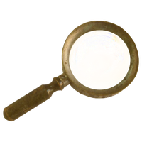 Steampunk Victorian Magnifying-glass Icon Mk3 by pendragon1966