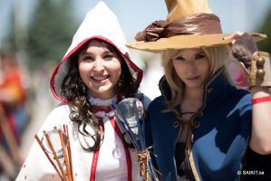 Final Fantasy 1 - Mages by Rinny09