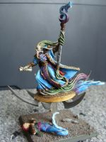 Chaos tzeench wizard by Chromone