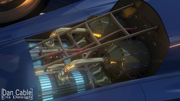 X-Car Engine Bay by dan-cable