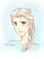 Elsa by azurinna