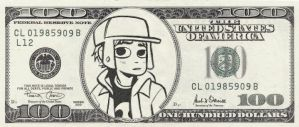 Scott Pilgrim's 100 Dollars by MAUWORLD274