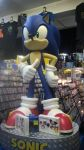 GIANT SONIC STATUE!!!! :D by JessicaMario