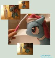 Lotus Blossom Plushie by HipsterOwlet