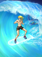 TDA: B n P: Surf it up! by Lord-Evell