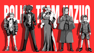 POLICE TEAM KAZUO - Header by GreyRadian
