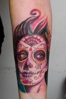 calavera girl by graynd