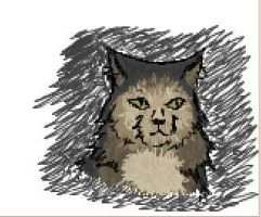 iscribble-norweigan forest cat by MeowKittehX3
