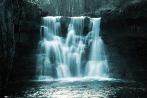 waterfall by Maggot-for-valentine
